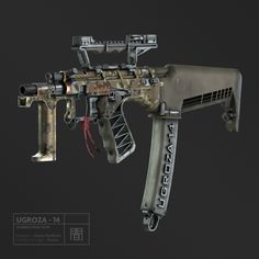Future Weapons, Great Britain, Guns, Military, Shadowrun, Engineer, Technology, Collection, Concept