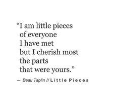 I cherish most ...