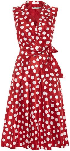 Love this: Spotted Shirt Dress @Lyst