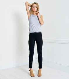 OurPonte Pant is designed to be the perfect balance between pant and legging. If you've been wanting to wear your...