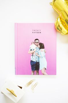 How to Make a Yearly Family Photo Book » Lovely Indeed