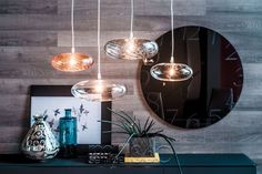 Borosilicate glass pendant lamp LIM By Cattelan Italia design Andrea Lucatello Crystal Ceiling Light, Crystal Pendant Lighting, Ceiling Chandelier, Pendant Lamp, Ceiling Lights, Pendant Lights, Blown Glass Pendant Light, Glass Round Dining Table, Italia Design