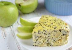 Tento nízkokalorický dezert obsahuje len 117,46 kcal na 100 g. Tak, čo poviete stojí za to ho vyskúšať, nie. Tvarohový koláčik s jablkami a makom Zloženie: Tvaroh – 100 g Jabko – 1 ks Vajce – 1 ks Mak – 1 polievková lyžica Med – 1 lyžička Príprava: Tvaroh roztlačíme s vidličkou spolu s vajcom, pridáme lyžicu medu. Pridajte jablko, ktoré