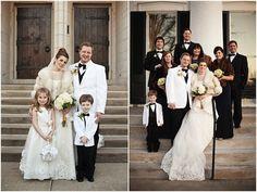 Classic, Elegant, Old World Winter Wedding | Bridal Musings