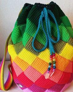 Marvelous Crochet A Shell Stitch Purse Bag Ideas. Wonderful Crochet A Shell Stitch Purse Bag Ideas. Gilet Crochet, Tunisian Crochet, Crochet Motif, Crochet Yarn, Crochet Patterns, Bag Patterns, Crochet Ideas, Crochet Handbags, Crochet Purses