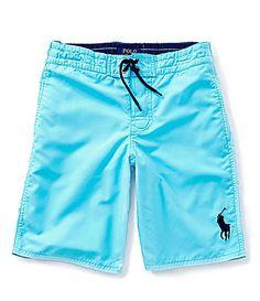 28ef3763a1 Ralph Lauren Childrenswear 820 Sanibel Swim Trunks #Dillards