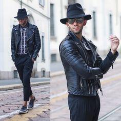 chapeau fedora mode homme de street style
