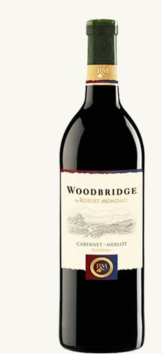 Woodbridge by Robert Mondavi Cabernet-Merlot is smooth and lush with opulent dark fruit flavors and a touch of spice.
