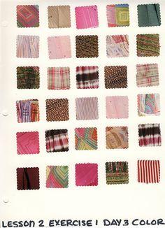 sketchbook page - colour theme