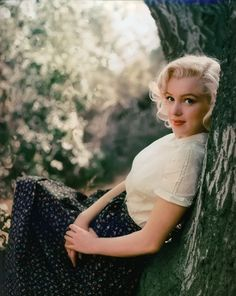 Photographed by Milton Greene in Laurel Canyon, California, 1953