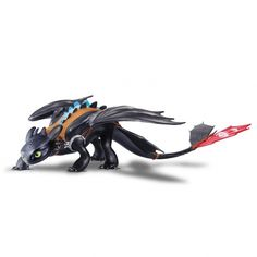 DreamWorks How To Train Your Dragon 2 - Mega Toothless Alpha Edition Now you can bring home the biggest Toothless Toy ever made! Toothless Toy, Toothless Dragon, Dragon 2, Dreamworks Dragons, Night Fury, Httyd, Hiccup, Parent Gifts, How To Train Your Dragon
