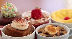 Learn how to make 5 Mug Cakes including Banana Bread (Vegan & Flourless), Coffee Cake, Pineapple Upside Down Cake, Strawberry Cobbler (Eggless) & Nutella Mug Cake! Nutella Mug Cake, Cake Mug, Coffee Cake, Coffee Mugs, Mug Recipes, Baking Recipes, Cake Recipes, Dessert Recipes, Mug Cake Microwave