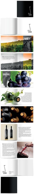 Brochure of wine.