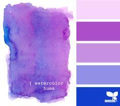 watercolor hues