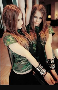 Avril Lavigne and lavigne Bild