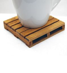 Pallet Coasters from MADE