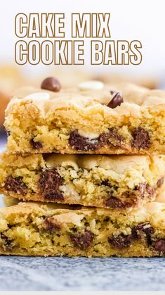 Cake Mix Cookie Recipes, Cake Mix Cookies, Yummy Cookies, Brownie Recipes, Healthy Dessert Recipes, Just Desserts, Baking Recipes, Delicious Desserts, Quick And Easy Sweet Treats
