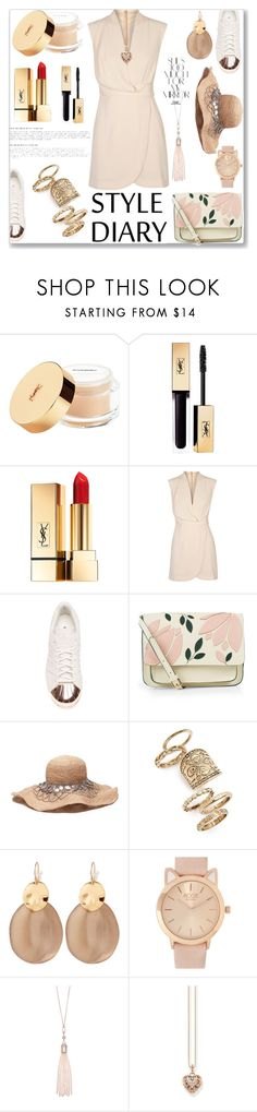 """""""Summer Dress..1st Top Fashion Set.."""" by detroitgurlxx ❤ liked on Polyvore featuring Finders Keepers, adidas, Accessorize, Topshop, Alexis Bittar, Rika, Oasis and Thomas Sabo"""