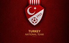 Download wallpapers Turkey national football team, 4k, leather texture, coat of arms, emblem, logo, football, Turkey Turkey National Team, National Football Teams, Turkey Football Team, Sports Wallpapers, Leather Texture, Sports Pictures, Coat Of Arms, Soccer, World Cup