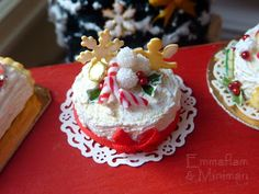 The Paris Miniatures blog - handmade miniature cakes, pastries and other tiny food