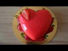 zrkadlová poleva na tortu ( mirror glaze on cake ) Tutorial - YouTube