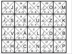 Primary School, Education, Math, Struktura, Puzzle, Geometry, Elementary Schools, Math Resources, Puzzles