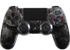 Custom PlayStation 4 Controller Zombie Hazard by EvilControllers, $99.99 #PS4 #Controller #CustomController #EvilControllers