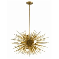 Zanadoo Antique Brass Chandelier
