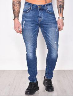 Jeans homme pas cher, jeans Redskins, jean Sixth June - Jeans Industry Denim Jeans Men, Super Skinny Jeans, Trendy Outfits, Slim, Mens Fashion, Cool Clothes For Men, Men, Men Wear, Men Fashion