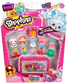 This season's new Shopkins arrivals have arrived! There's over 140 new Shopkins to collect!! So why wait! There's lots more in store! Get your shopping shoes on with Shopkins Season 4. You'll have she...