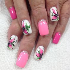 Discover new and inspirational nail art for your short nail designs. Learn with step by step instructions and recreate these designs in your very own home. Orange Nail Designs, Short Nail Designs, Toe Nail Designs, Nail Art For Kids, New Nail Art, Cute Nails, Pretty Nails, My Nails, Spring Nails