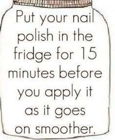 Nail Polish Life Hack - #Beauty, #LifeHack, #Nails