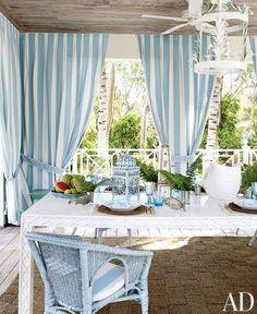 Cabana Stripe Curtains