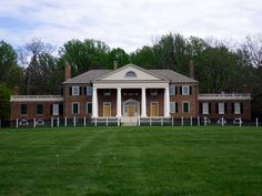James and Dolley Madison's Montpelier near Orange, Virginia - family home and plantation of the author of the Constitution and fourth President of the United States