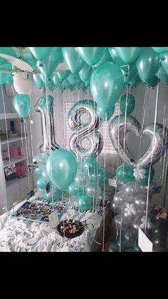 Hotel Birthday Parties, Birthday Party For Teens, 18th Birthday Party, Birthday Photos, Birthday Ideas, Birthday Room Surprise, Birthday Balloon Decorations, Birthday Balloons, Birthday Goals