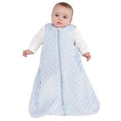 HALO SleepSack Micro Fleece Coperta indossabile, Blu, Grande