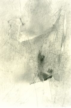 Gerhard Richter / Graphite on paper, 1985