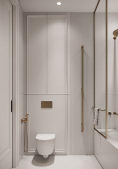 Wc Design, Bathroom Design Layout, Home Room Design, Bathroom Interior Design, House Design, Laundry In Bathroom, Bathroom Inspo, Bathroom Inspiration, Bathroom Dimensions