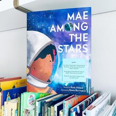 MAE AMONG THE STARS is a beautiful picture book for sharing and marking special occasions such as graduation, inspired by the life of the first African American woman to travel in space, Mae Jemison. An Amazon Best Book of the Month! A great classroom and bedtime read-aloud, Mae Among the Stars is the perfect book for young readers who have big dreams and even bigger hearts. 📸 @missmskindergarten