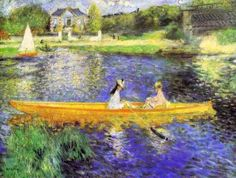 Pierre Auguste Renoir (1841-1919), Banks of the Seine at Asnieres 1879.