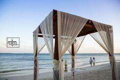 Beach Newlyweds. Azul Sensatori Wedding Photography. Best Destination Wedding Mexico. Wedding Photographers in Cancun, Puerto Morelos, Playa del Carmen, Puerto Aventuras, Tulum. Award winning photography ranked #1 in Mexico. Beach Wedding Ideas. Bride Style.