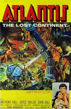 """""""Atlantis, the Lost Continent"""", George Pal (1961)"""