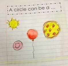 Kindergarten Math journals - ex: shapes Kindergarten Fun, Preschool Math, Math Classroom, Fun Math, Math Activities, Math Math, 2d Shapes Activities, Preschool Journals, Science Journals