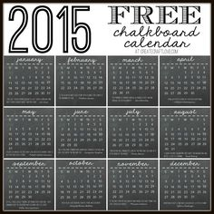 Kalendarz 2015 do wydrukowania cz. 2