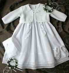 Baby Christening Dress, Baptism Dress, Baby Dress, Short Dresses, Girls Dresses, Flower Girl Dresses, Kids Fashion Wear, Baby Pullover, Gown Pattern