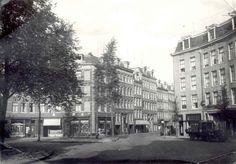 1935 - 1940. The Iepenplein in Amsterdam-East during German occupation. Photo Stadsarchief Amsterdam. #amsterdam #1940 #Iepenplein