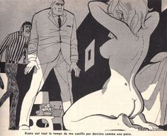 Georges Pichard (1920-2003), dibujante de cómics francés, creó sus ilustraciones con un toque de sexualidad lúdica. Su audaz obra transmite pensamientos de mutilación gráfica y de sexualidad voluptuosa a través de la línea de trabajo delicada de su pluma.