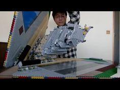 LEGO: une structure en pop-up du Château Himeji : golem13