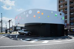 Klein Dytham Architecture have designed a small police station in Kumamoto, Japan.