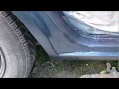 Diy Large Rust Hole Repair on your Auto Part 4 (paint) - YouTube